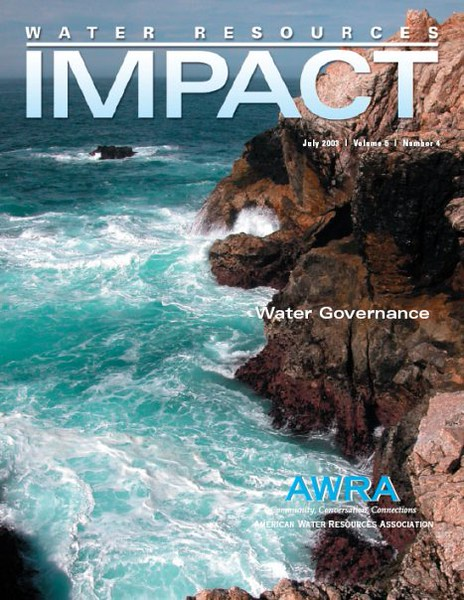 2003 Water Resources IMPACT Cover