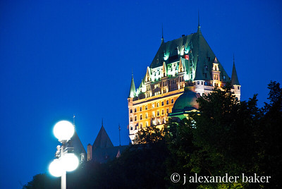 Chateau Frontenac evening