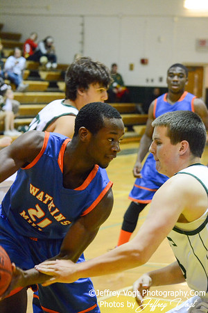 12-18-2013 Damascus HS vs Watkins MIll HS Boys Varsity Basketball, Photos by Jeffrey Vogt Photography