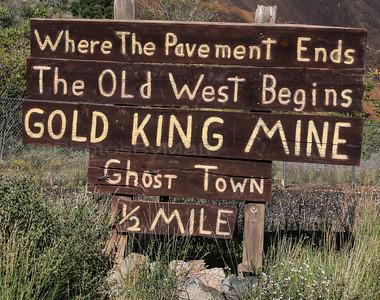 Gold King Mine Ghost Town, Jerome, AZ