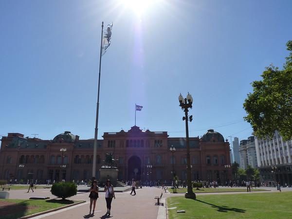 Plaza de Mayo area 3 FEB 2011
