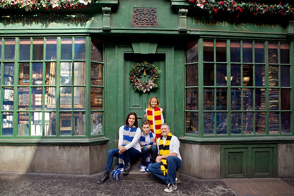 The Davenport Family: Holidays at Hogwarts