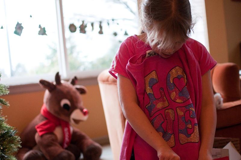 2012 Christmas - sweatshirt from Meemaw and Papa