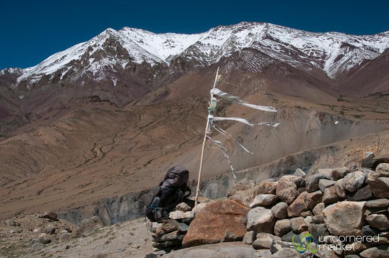 Backpack, Hiking the Markha Valley Trek - Ladakh, India