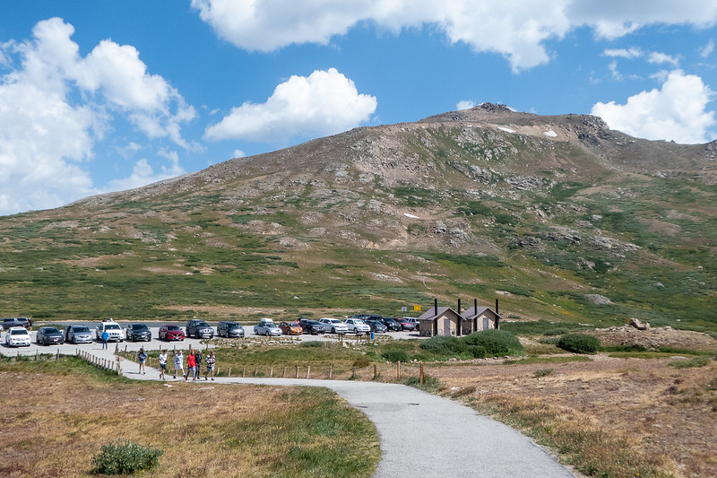 Independence Pass - crowded now!