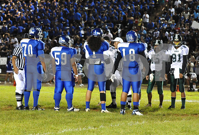 "10-16-09 (8-0) Moanalua Varsity (31) ""vs"" Aiea Varsity (14) - Photos by Alan Kang"