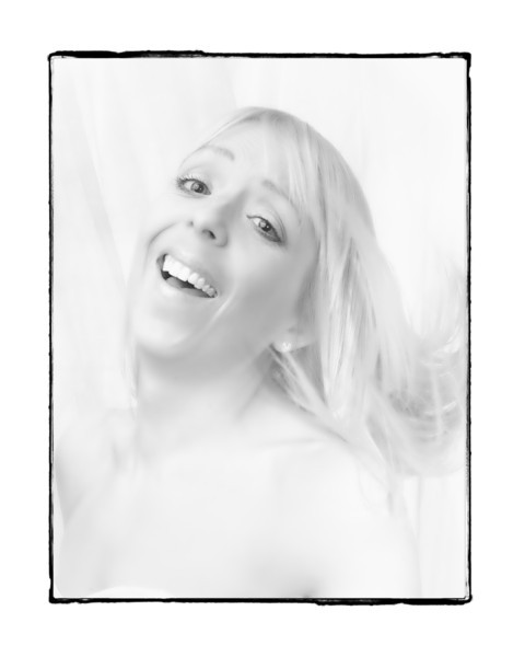 Lynsey, High key Portrait