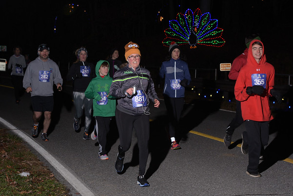 Run Under the Lights 5K - D.Greb