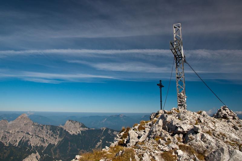 Gipfelkreuz Planspitze