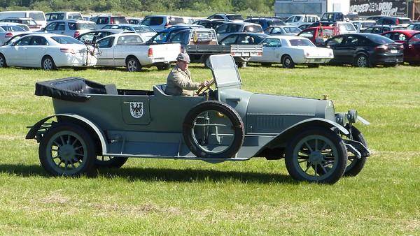 WWI German Stoewer staff car