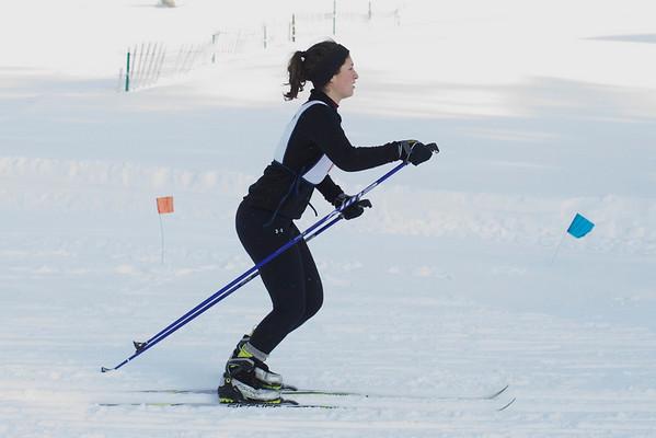 Nordic skiing, high school
