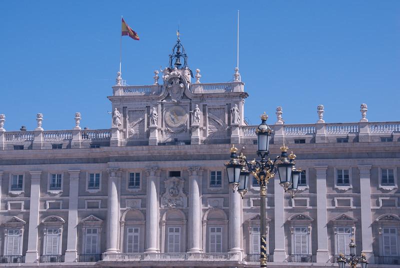 Palacio Real de Madrid in Spain