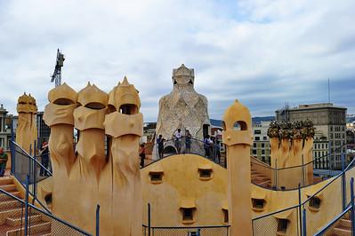 Barcelona's La Pedrera Casa Mila (Gaudi Museum) La Pedrera (Catalan for 'The Quarry'),