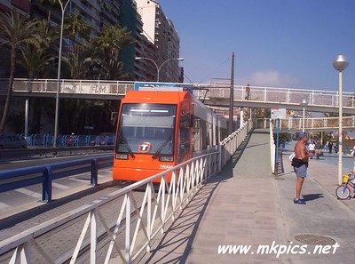 Alicante Trams, Spring 2005