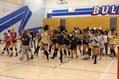 2009 FHS Varsity VB Senior Night vs Monterey Trail 11-04-09