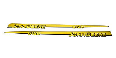 JOHN DEERE 6120 SERIES BONNET DECAL SET