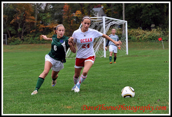 Soccer - Ocean Girls Varsity vs Colts Neck  SCT  Oct 2012