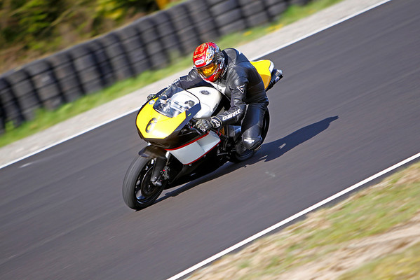#6 - Black & Yellow Ducati