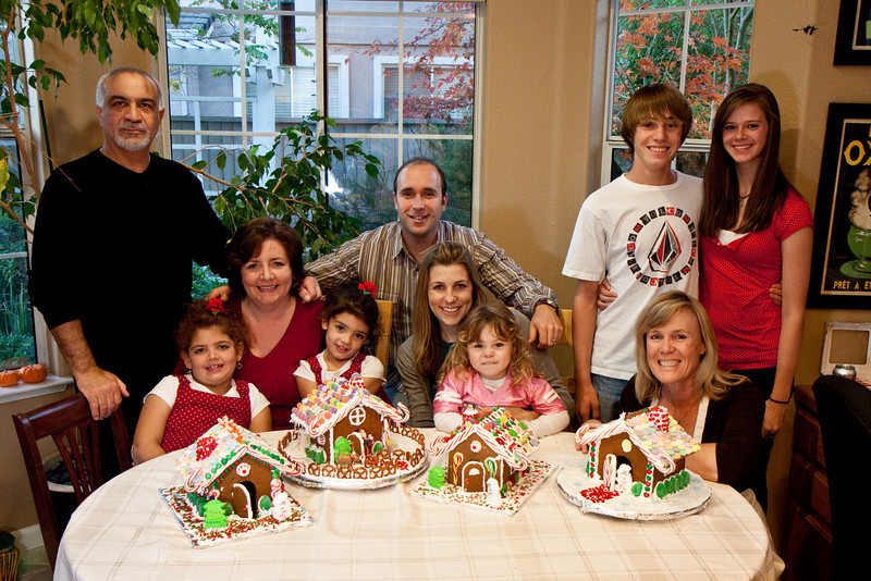 wow, what a beautiful display of humans and gingerbread!