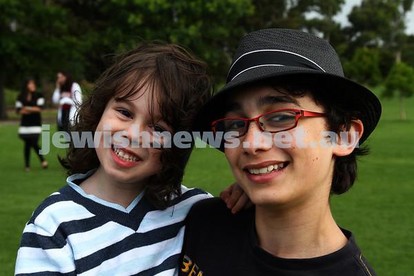 Chanukah in the Park 2011