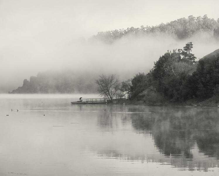 Foggy Morning at Lake Chabot