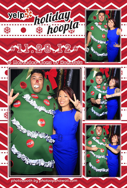 YELP's Holiday Hoopla 2012 (Photo Booth)
