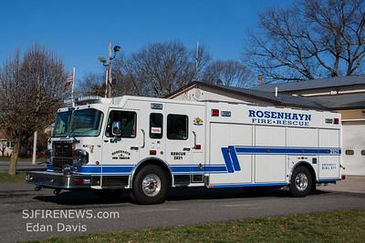 Rosenhayn, Cumberland County NJ, Rescue 29-21