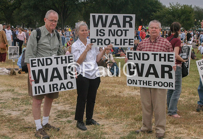 2005 Iraq War Protest in Washington, DC