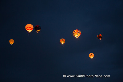 Albuquerque Balloon Fiesta - Dawn Patrol