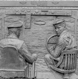 Navy Memorial - Bas Reliefs