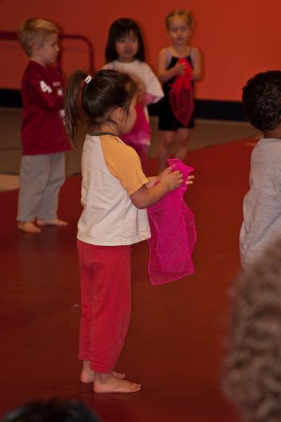 Zoe's Gymnastics Show