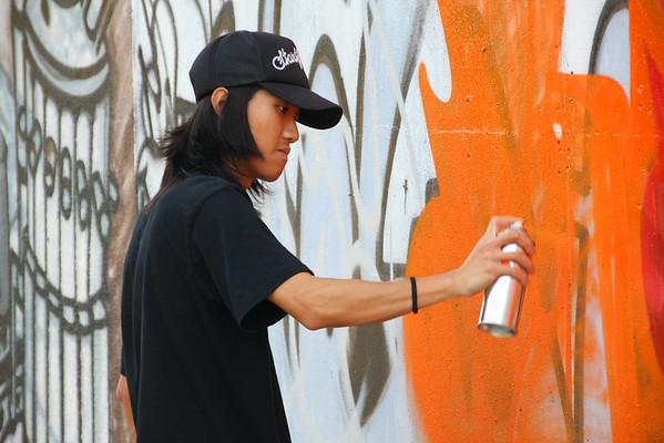Graffiti Artist YYY