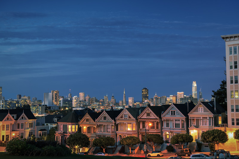 Painted Ladies || San Francisco