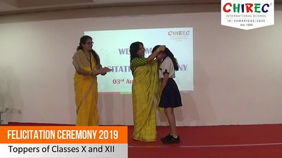 Felicitation Ceremony 2019