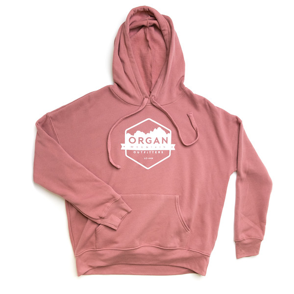 Organ Mountain Outfitters - Outdoor Apparel - Womens - Classic Fleece Pullover Hoodie - Mauve.jpg