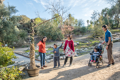 South Coast Botanic Garden Kids Club and Incredible Journey 12/16/18
