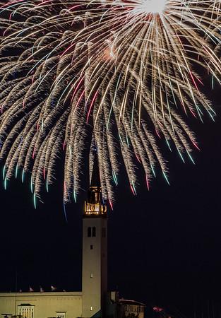Fireworks, GPYC, 2017