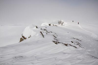 Mount Gordon, Wapta Icefields - 15 April 2012