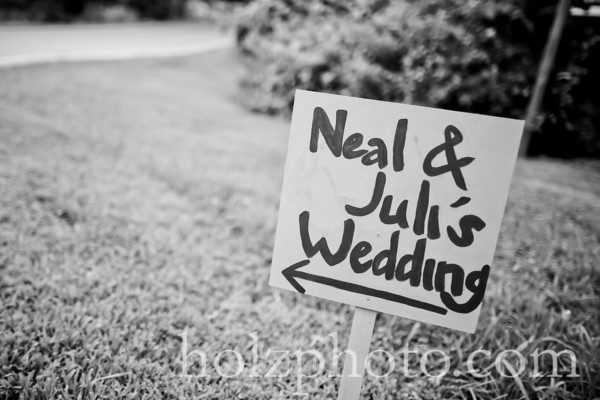 Juli and Neal B/W Wedding Photos (Louisville, Ky)