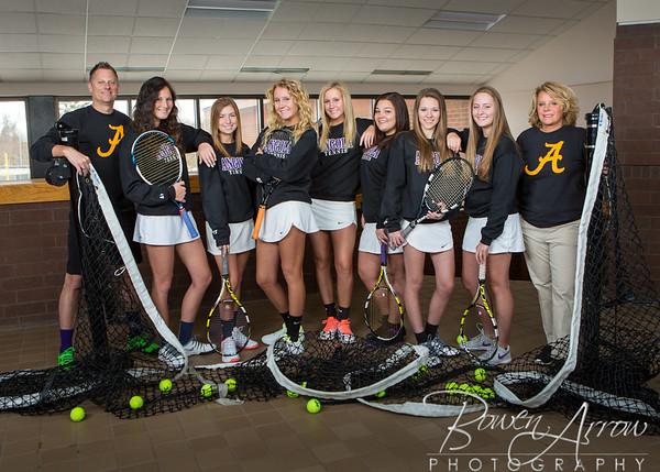 W Tennis Team 2016