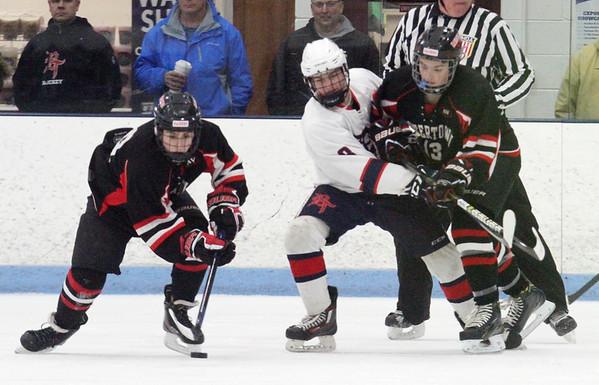 Dracut-Tyngsboro Watertown hockey 030219