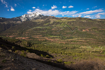 View from Cutler Road, Ouray, CO