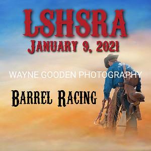 LSHSRA Barrel Racing Jan 2021