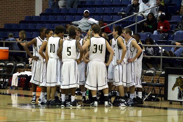 Mansfield High Basketball 2008-09