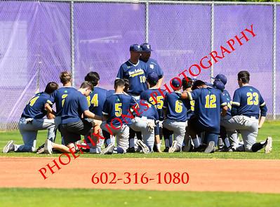 3-7-2020 - Blue Ridge v Yuma Catholic - Baseball game