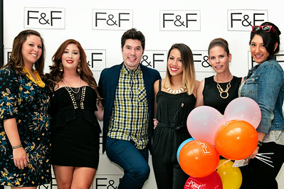 F & F Step and Repeat