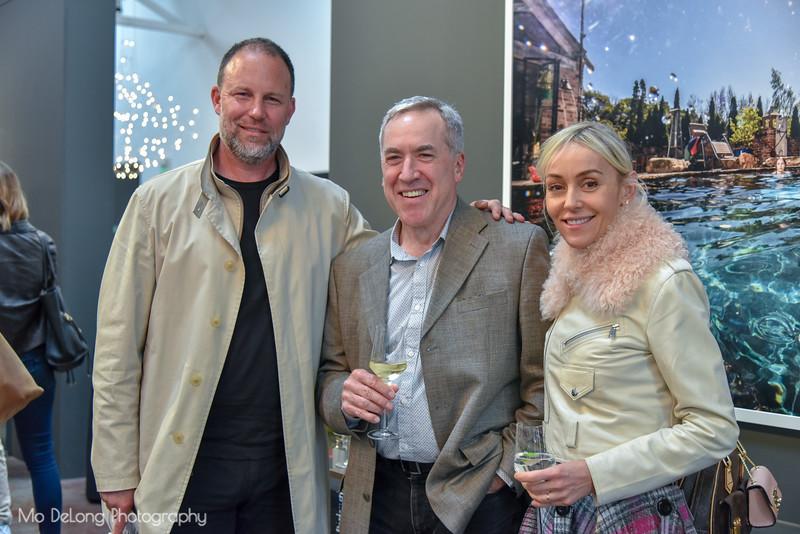Tim O'Shea, Michael Gray and Agnieszka Pilat