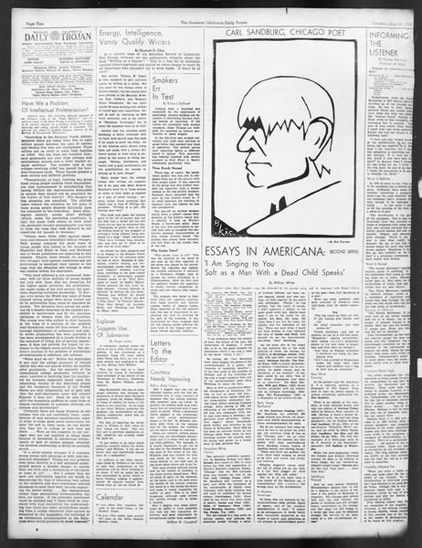 Daily Trojan, Vol. 29, No. 133, May 10, 1938