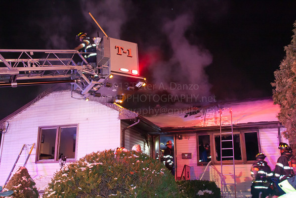 Lodi NJ 2nd alarm, 95 Arnot St, 12-19-13