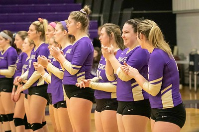 Defiance College Volleyball 10-26-2019